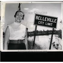 1929 Press Photo Bellaville City - RRW05641