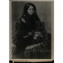 1920 Press Photo Eugenie Former Europe France Lady Sits - RRW81509