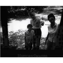 1965 Press Photo Girl Scout Camp/Pam Meeker/Michigan