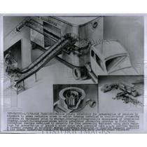 1955 Press Photo Drawing of Potato Irradiator - RRX54819