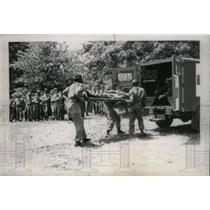 1958 Press Photo National Guard Drills Illinois - RRX43759