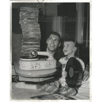 1959 Press Photo LaRabida Disney Donated Phonograph - RRW35625