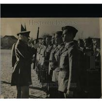 1938 Press Photo Inspection of R.O.T.C. Units In Denver - RRX68713