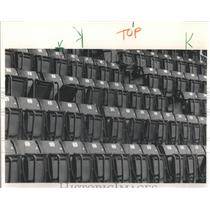 1985 Press Photo Seats Should Have Filled As White Sox But Players Are Strike
