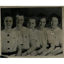 1946 Press Photo Kornitz Bowling Adelaide Lindemann - RRW00217