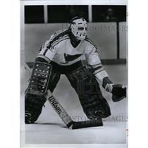 1978 Press Photo Eddie Johnston Chicago Black Hawks - RRW73463