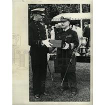 1933 Press Photo Midshipman Karl US Naval Academy Upham - RRX69369