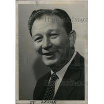 1965 Press Photo Central Team Coach Lesar Profile - RRX47703