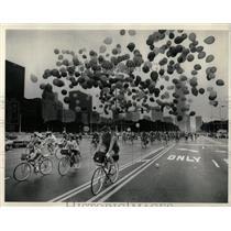 1958 Press Photo Columbus Drive Buckingham Fountain ILL - RRW05173