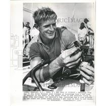 1964 Press Photo David Marques Sovereign Red Rose Race - RRW46141