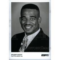 1996 Press Photo Stuart Scott - RRX40253