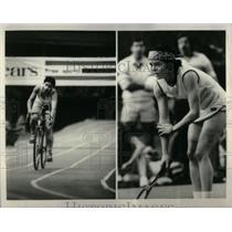 1975 Press Photo Diane Holum skier Kiki Cutter Race - RRX08873