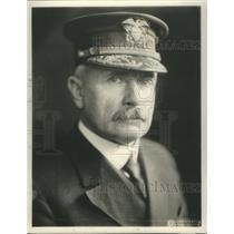 1922 Press Photo Samuel Robinson Washington Santo Domingo Midshipmen Military