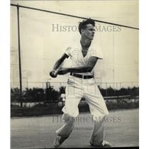 1933 Press Photo Tom Harper Tennis California Tech - RRX72665