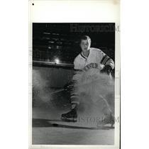 1973 Press Photo Ross Woodley Denver University ice hoc - RRW73875