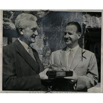 1955 Press Photo Benson Ford William Slattery