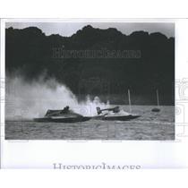 1980 Press Photo Southland Regatta Boat Races- RSA30063