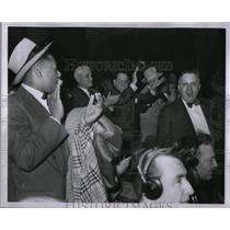 1950 Press Photo Floyd Stevens Boxing Commissioner - RRX51337