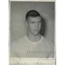 1963 Press Photo Les Jannusch Maine West HS Football - RRW76961