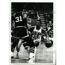 1979 Press Photo Orlando Carl Nicks Indiana Pacers NBA - RRW80327