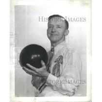 1947 Press Photo Eddie Krens