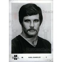 press photo KARL CHANDLER AMERICAN FOOTBALL PLAYER - RRX39241