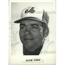 1979 Press Photo Osvaldo José Kansas City Athletics - RRW74495