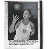 1958 Press Photo Parry O'Brien Olympic shot-put - RRW36641