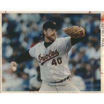 Press Photo Tom Cruze Baltimore Orioles - RSC28955