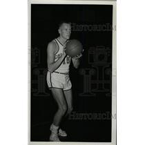 1957 Press Photo Gordie Johnson Colorado University - RRW80375