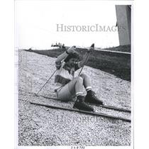 1962 Press Photo Skier Renate Isenmann - RRW31379