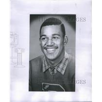 1961 Press Photo Marcus Sanders Detroit PSL Basketball Player - RSC29355