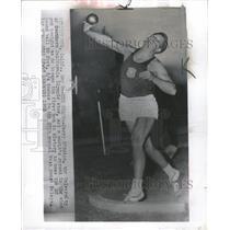 1953 Press Photo Brien Parry Track - RRW36635