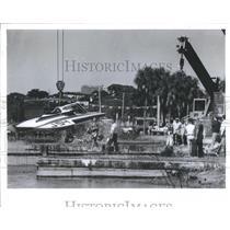 1983 Press Photo Southland Regatta Boat Races- RSA30025