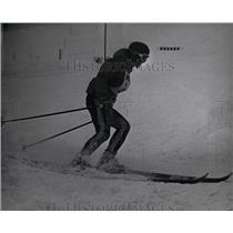 1965 Press Photo OlympicAlpine Skier Traudl Hecher - RRW84503
