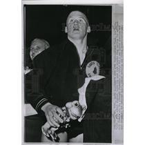 1961 Press Photo Steve Clark Swimming National A.A.U. - RRW73731