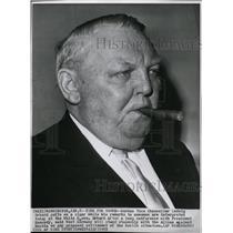 1962 Press Photo Ludwig Erhard German Vice Chancellor - RRW21301