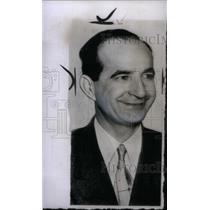1955 Press Photo Costa Rica President Figueres - RRX46601