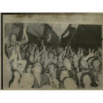 1975 Press Photo Italian Communists Celebrate Election - RRX75921