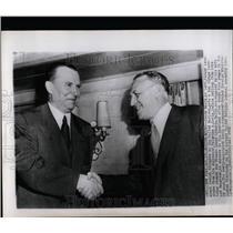 1952 Press Photo Soviet Delegates The United Nations - RRW07389