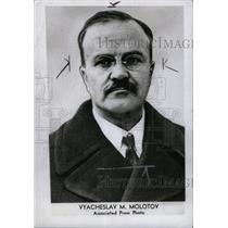 1942 Press Photo Soviet Foreign Commissar Molotov - RRW71631