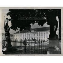 1959 Press Photo Bellevue Castle East Berlin Germany