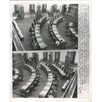 1963 Press Photo Republicans democrats battle hpouse - RRW48847