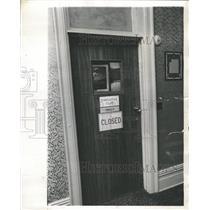 1969 Press Photo Moraine On The Lake Hotel Club Closed - RRW38853