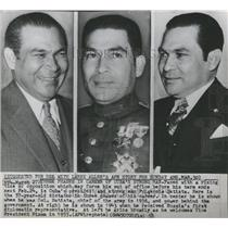 1958 Press Photo Three Phases of Fulgencie Batista - RRX84561