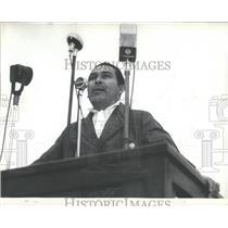 Press Photo Cuban Dictator Fulgencia Batista - RRX84557