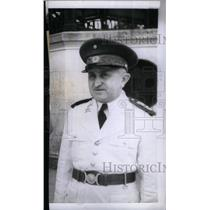 1942 Press Photo Gen. Eurico Gaspar Dutra of Brazil - RRX47813