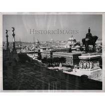1957 Press Photo Rome Italy Sights - RRX78051