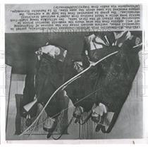 1960 Press Photo Japan Court Official Ancient Rite Evil - RRX84981