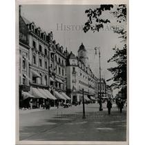 1940 Press Photo Karl Johans Street, Oslo, Norway - RRX70501